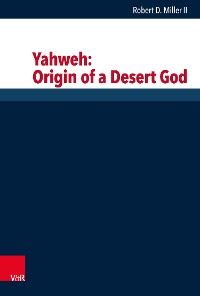Cover Yahweh: Origin of a Desert God