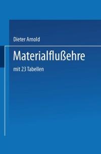 Cover Materialflusslehre