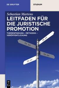 Cover Leitfaden für die juristische Promotion