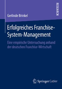 Cover Erfolgreiches Franchise-System-Management