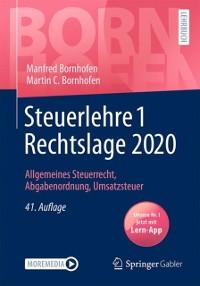 Cover Steuerlehre 1 Rechtslage 2020