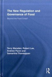 Cover New Regulation and Governance of Food