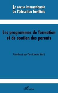 Cover Les programmes de formation et de soutien des parents