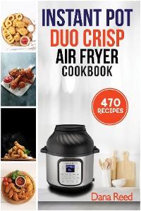 Cover Instant Pot Duo Crisp Air Fryer Cookbook