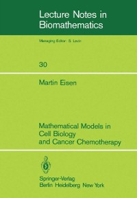 Cover Mathematical Models in Cell Biology and Cancer Chemotherapy