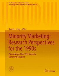 Cover Minority Marketing: Research Perspectives for the 1990s