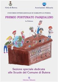 Cover Antologia del Premio Letterario Fortunato Pasqualino Sezione Scuole di Butera