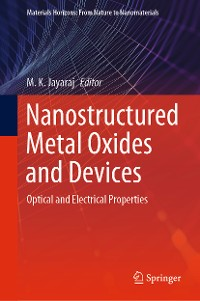Cover Nanostructured Metal Oxides and Devices