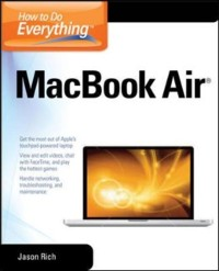 Cover How to Do Everything MacBook Air