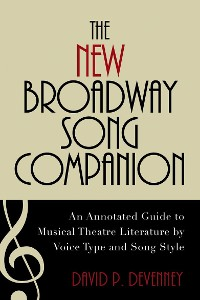 Cover The New Broadway Song Companion