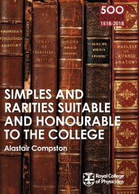 Cover RCP 9: Simples and Rarities Suitable and Honourable to the College
