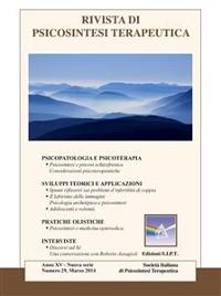 Cover Rivista di Psicosintesi Terapeutica n. 29