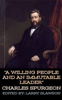 Cover A Willing People and an Immutable Leader