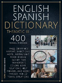 Cover English Spanish Dictionary Thematic 3