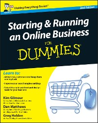 Cover Starting and Running an Online Business For Dummies, 2nd UK Edition