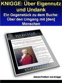 Cover KNIGGE: Über Eigennutz und Undank