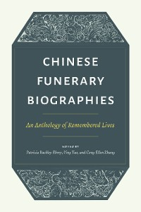 Cover Chinese Funerary Biographies