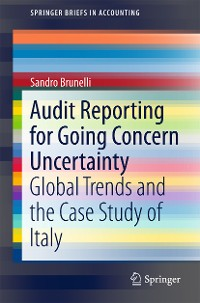 Cover Audit Reporting for Going Concern Uncertainty