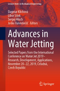 Cover Advances in Water Jetting