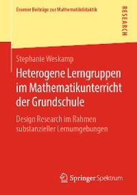 Cover Heterogene Lerngruppen im Mathematikunterricht der Grundschule