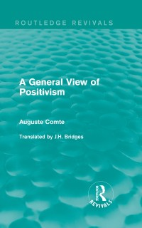 Cover General View of Positivism