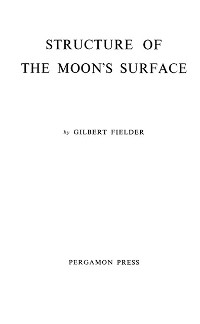 Cover Structure of the Moon's Surface