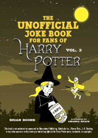 Cover Unofficial Harry Potter Joke Book: Howling Hilarity for Hufflepuff