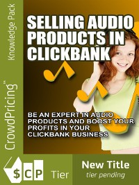 Cover Selling Audio Products in Click bank
