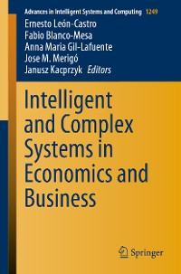 Cover Intelligent and Complex Systems in Economics and Business