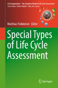 Cover Special Types of Life Cycle Assessment