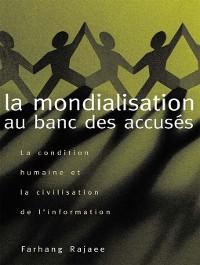 Cover La mondialisation au banc des accusés