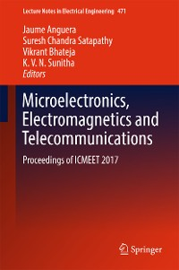Cover Microelectronics, Electromagnetics and Telecommunications