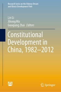 Cover Constitutional Development in China, 1982-2012