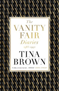 Cover Vanity Fair Diaries: 1983 1992