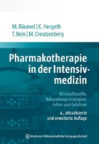 Cover Pharmakotherapie in der Intensivmedizin