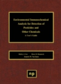 Cover Environmental Immunochemical Analysis Detection of Pesticides and Other Chemicals