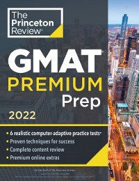 Cover Princeton Review GMAT Premium Prep, 2022