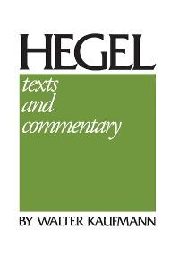 Cover Hegel