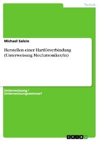 Cover Herstellen einer Hartlötverbindung (Unterweisung Mechatroniker/in)