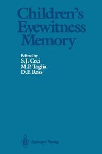 Cover Children's Eyewitness Memory
