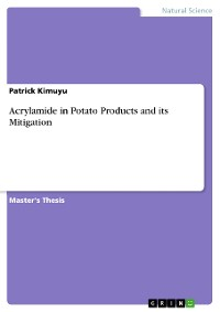 Cover Acrylamide in Potato Products and its Mitigation