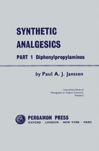 Cover Synthetic Analgesics