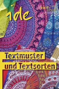 Cover Textmuster und Textsorten