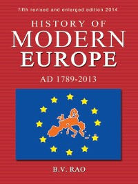 Cover History of Modern Europe