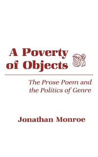 Cover A Poverty of Objects
