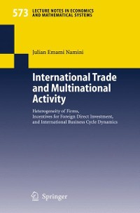 Cover International Trade and Multinational Activity