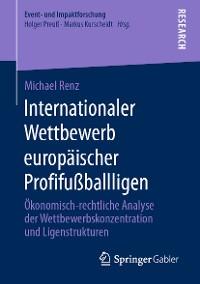 Cover Internationaler Wettbewerb europäischer Profifußballligen