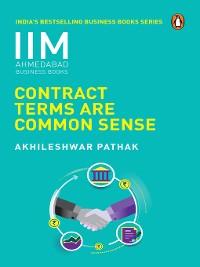 Cover Contract Terms Are Common Sense