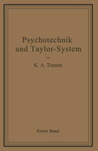 Cover Psychotechnik und Taylor-System