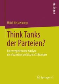 Cover Think Tanks der Parteien?